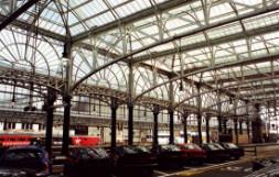 Ballantine Castings Construction - Glasgow Central Station